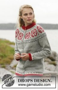 klassisk jakke sweater